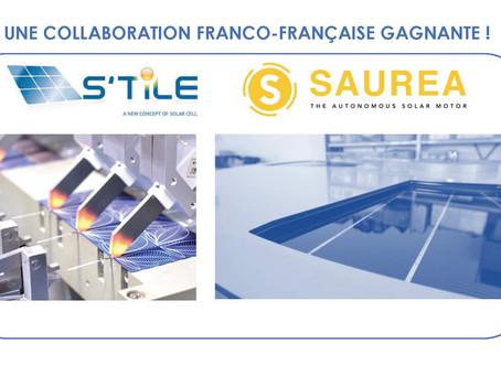 S'TILE + SAUREA = COLLABORATION FRANCO-FRANÇAISE