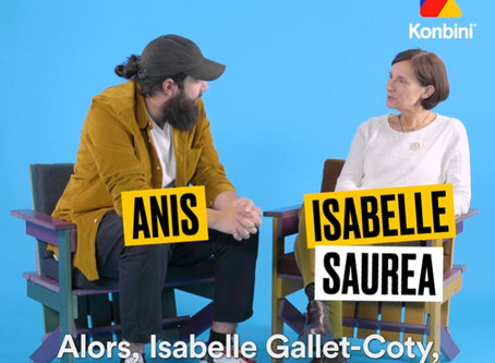 Interview d'Isabelle GALLET-COTY - Konbini