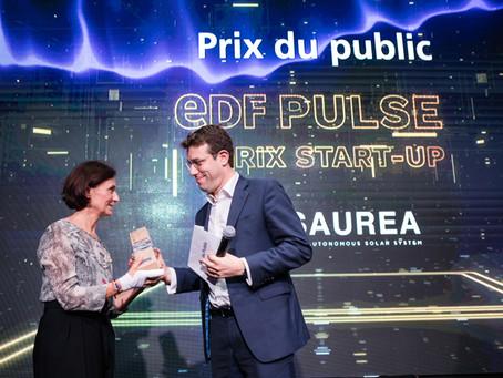 """SAUREA, LAURÉAT """"PRIX COUP DE CŒUR DU PUBLIC"""" EDF PULSE 2019"""