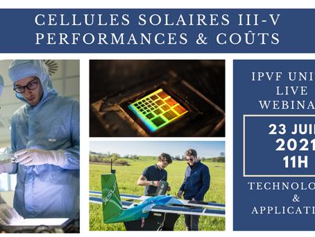 SAUREA en veille technologique : Casser les coûts des cellules solaires III-V