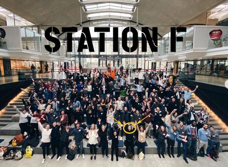 SAUREA rejoint le Founders Program STATION F