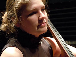 Liudmila Lebedeva of Rock N Bach Studios in Waterloo, Iowa
