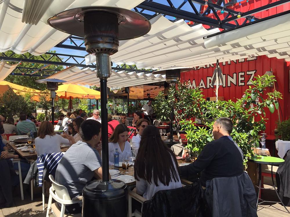 my foodie friend barcelona martinez restaurant terrace