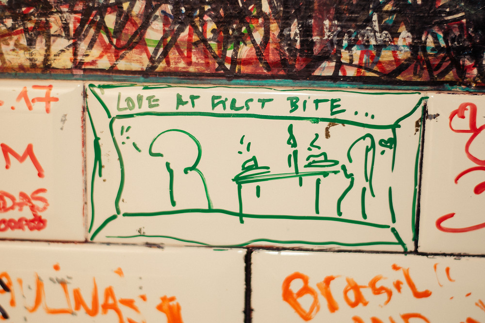 my foodie friend barcelona la pepita graffiti