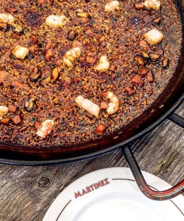 my foodie friend barcelona martinez paella