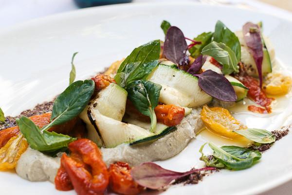 my foodie friend barcelona acontraluz sarria vegetable antipasti