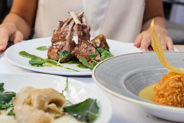 my foodie friend barcelona acontraluz sarria tortellini lamb monkfish