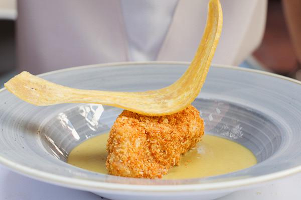 my foodie friend barcelona acontraluz sarria monkfish