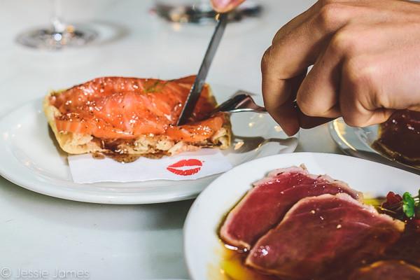 My Foodie Friend Barcelona Lolita's Taperia Truffled Salmon Tuna Loin
