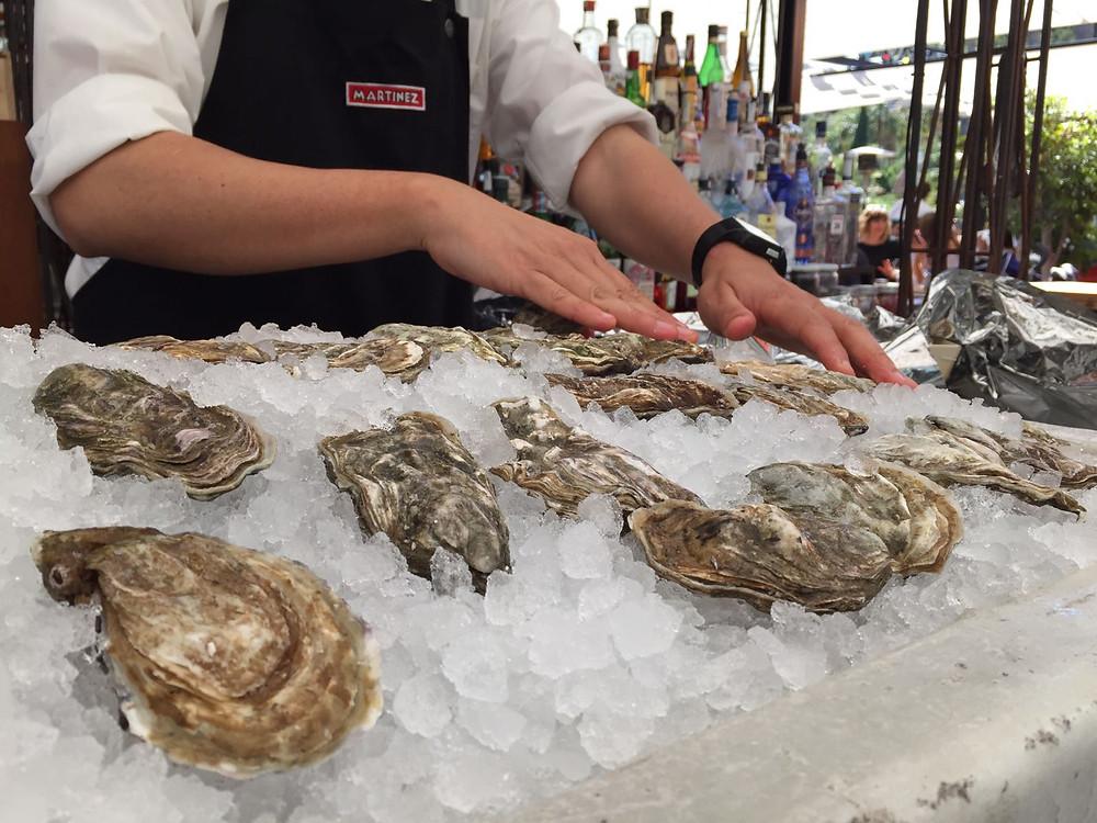 my foodie friend barcelona martinez oysters