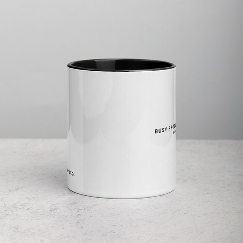 Busy Producing Wealth Mug- Style 2