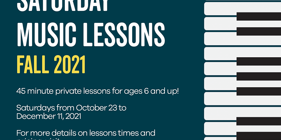 Saturday Music Lessons