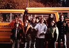 Group of teens in the 1970s