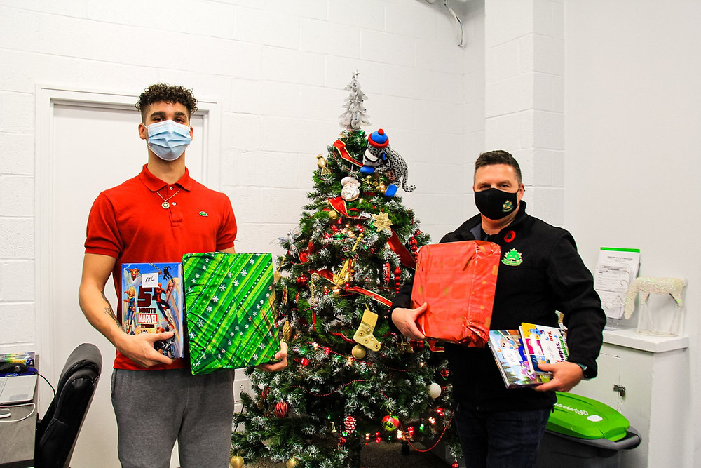 Christmas donations from Erin Sports Association