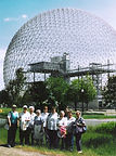 Seniors group on a trip to Île Sainte-Hélène in 1997