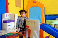 Child in Tots Room