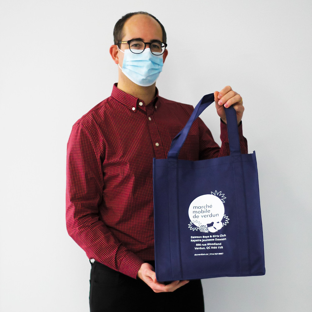 Mini Market tote bags