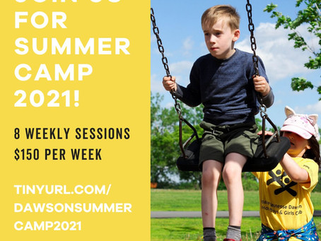 There's Still Room to Register for our 2021 Summer Camp!