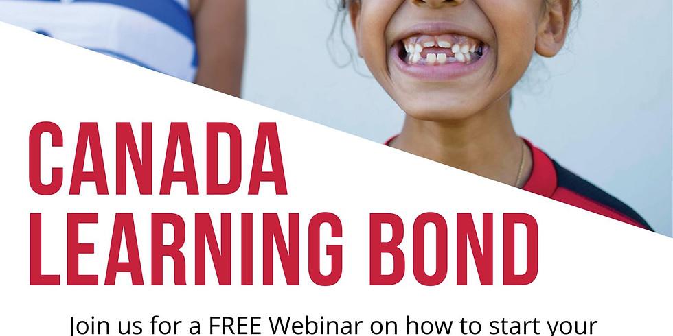 Canada Learning Bond Webinar