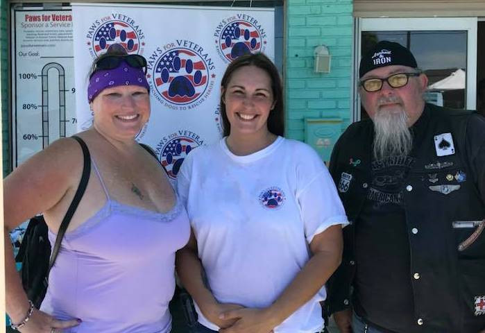 Paws for Veterans Grand Opening