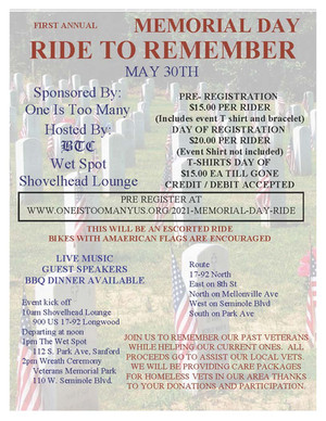 Memorial Day Ride to Remember