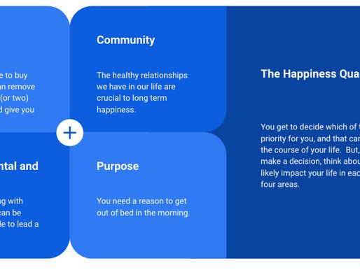 The Happiness Quadrant