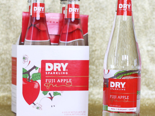 Introducing Fuji Apple DRY Sparkling