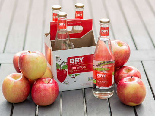 Celebrate National Apple Month with Fuji Apple DRY Sparkling