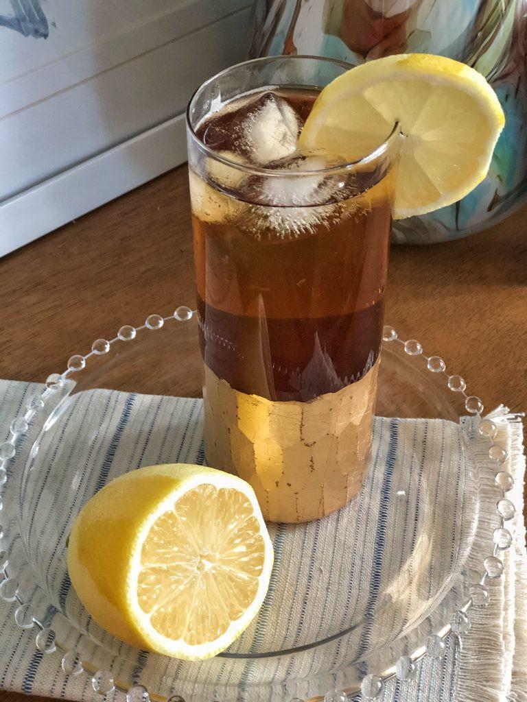 DRY Lavender Black Tea Highball