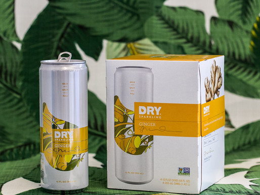 Introducing Ginger DRY Sparkling Cans!