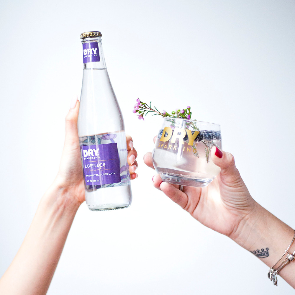 Zero-proof Lavender Delight Cocktail