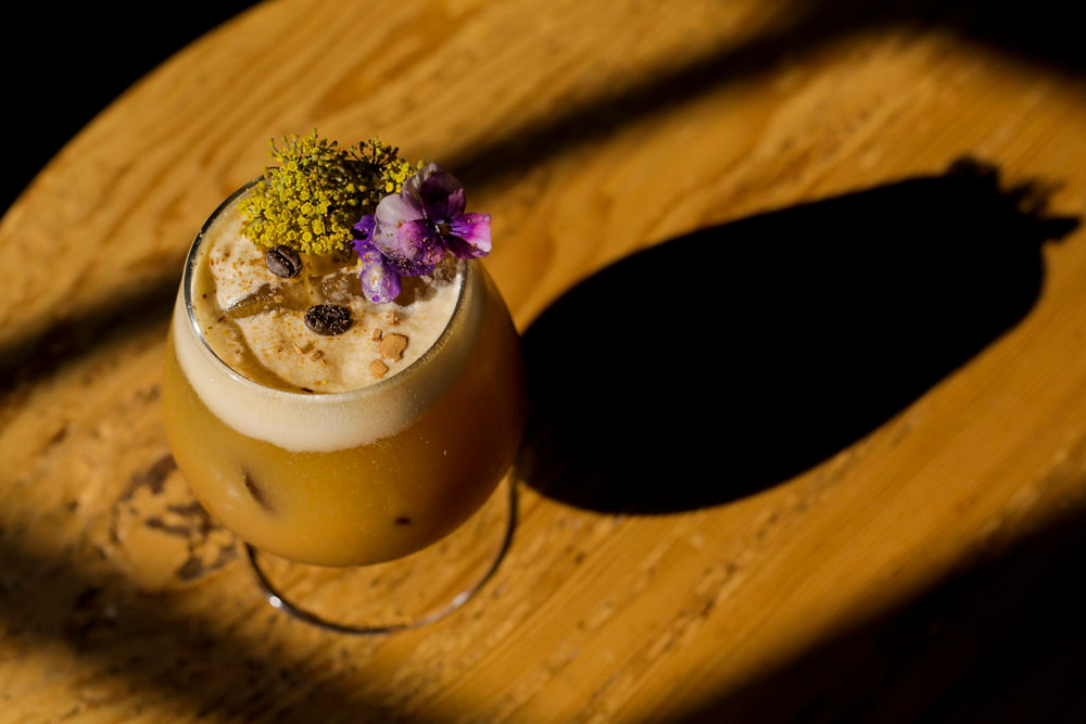 Vanilla DRY Pumpkin Spice Latte Mocktail