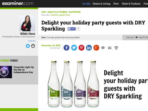 Examiner.com, Fox 5 and StyleCaster Recommend DRY this Holiday Season