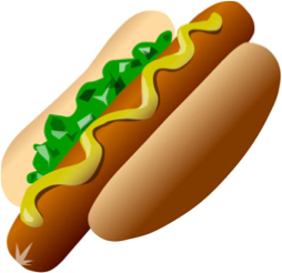 Hot Dog Emoji