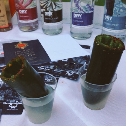 Titos VOdka Jalapeno Shot