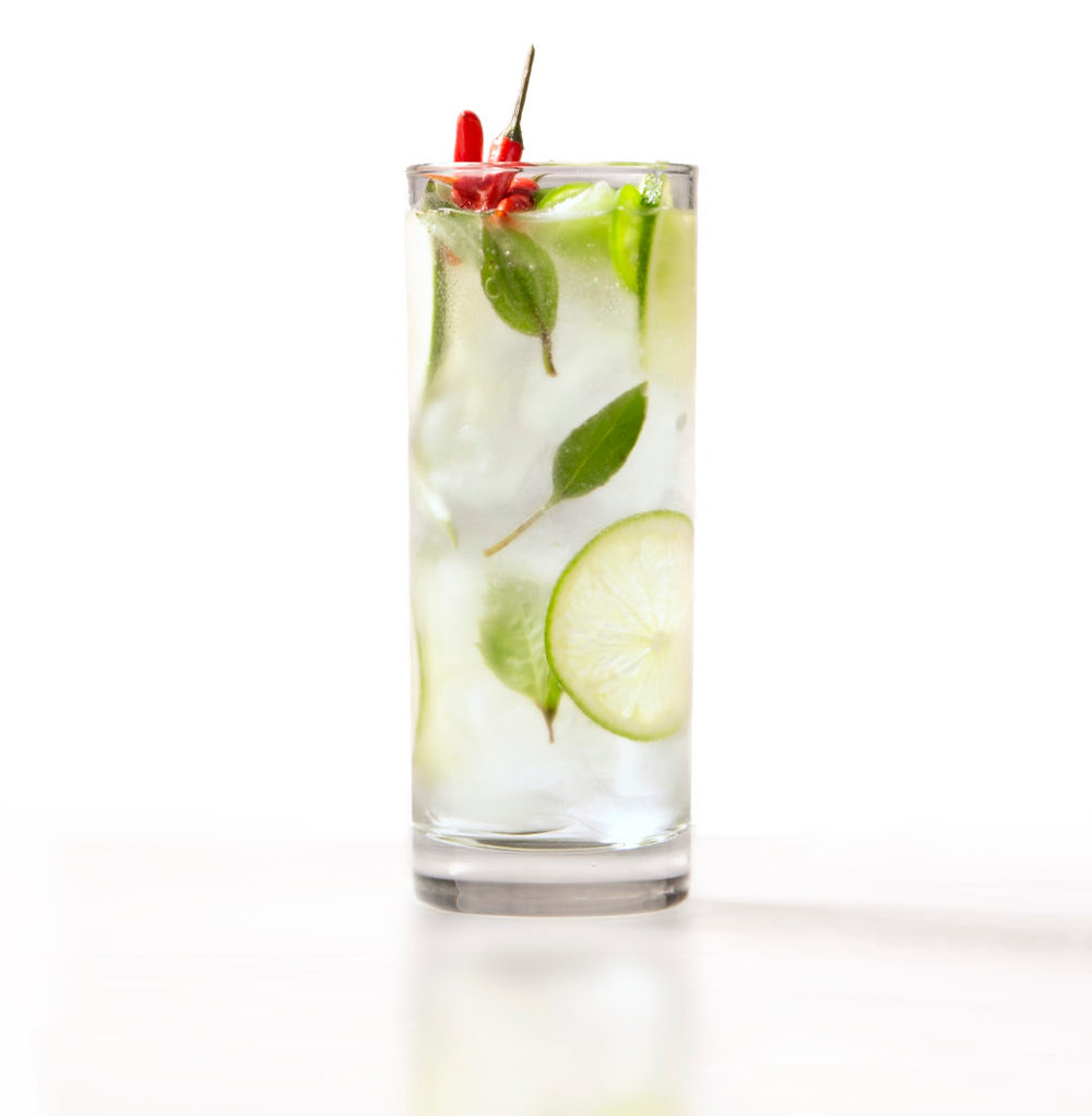 Spicy Cucumber Mocktail