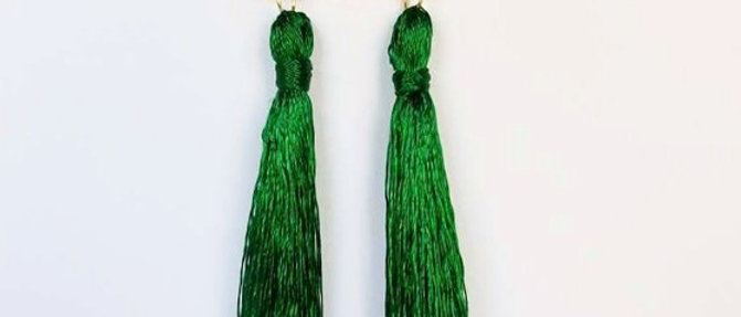 Green Tassel Shoulder Grazers