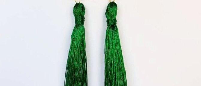 Green Tassel Shoulder Grazers
