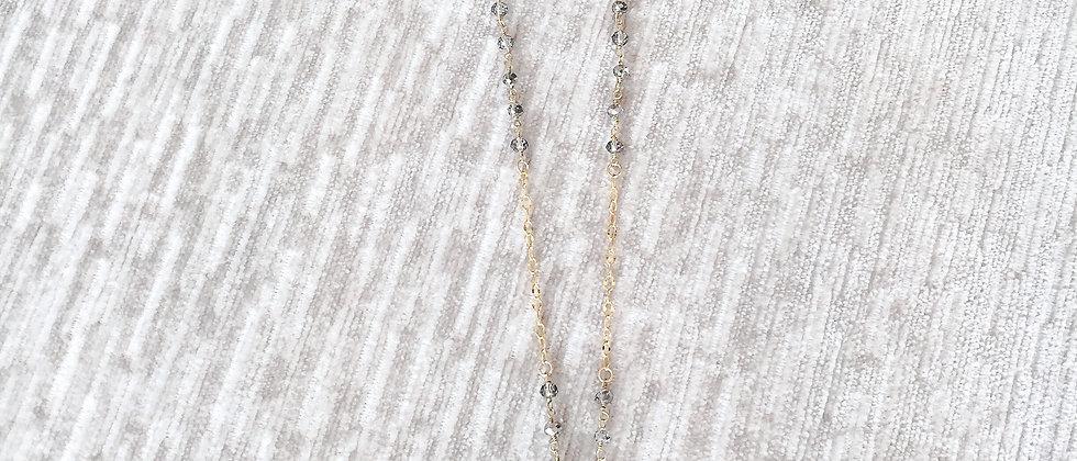 SABINA Crystal Medallion Necklace