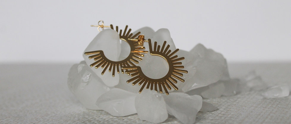 Thea Hoop Earrings