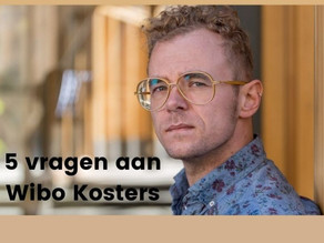 5 vragen aan: Wibo Kosters