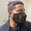 Thumbnail: SKIN WARRIOR Face Mask (black and gold)