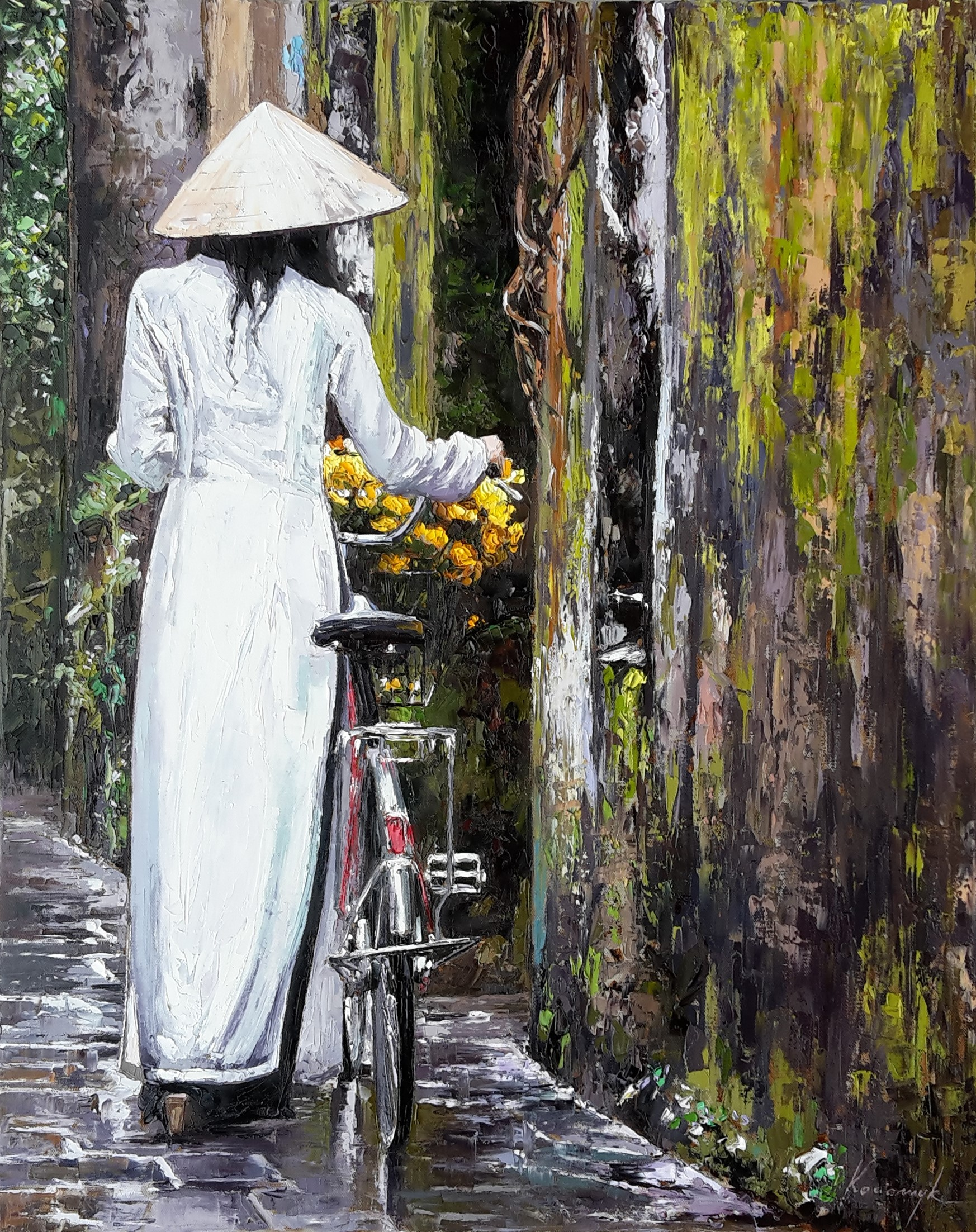"""Flower Delivery""   SOLD"