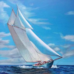 """Sails Bowing"""