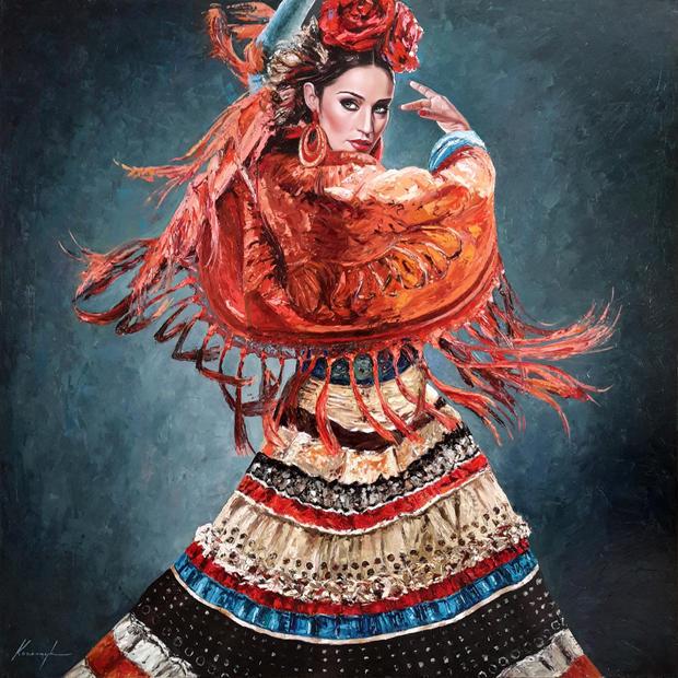 """Flamenco Fashion #1"""