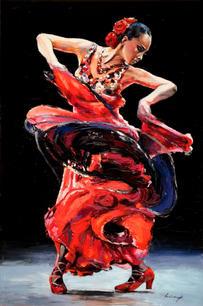 """""""Flamenco Dancer #7"""""""