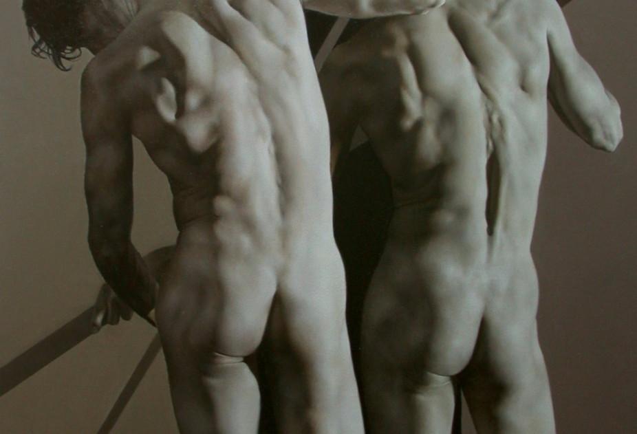 Academic Study - Male Figure (J4)