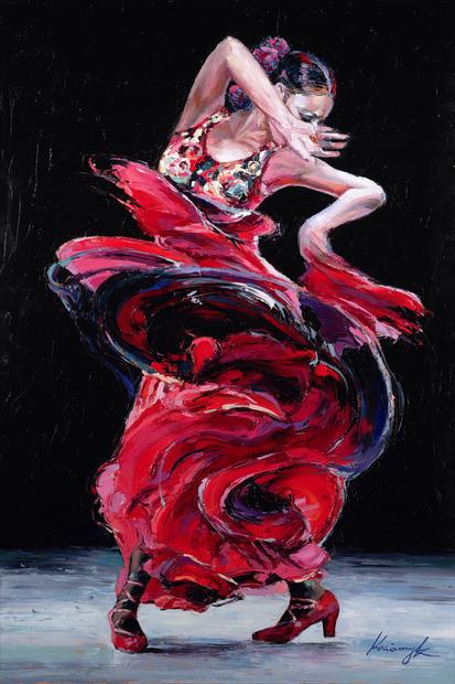 """""""Flamenco Dancer #5"""""""