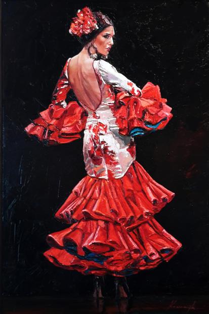 """""""Flamenco Dancer #4"""""""