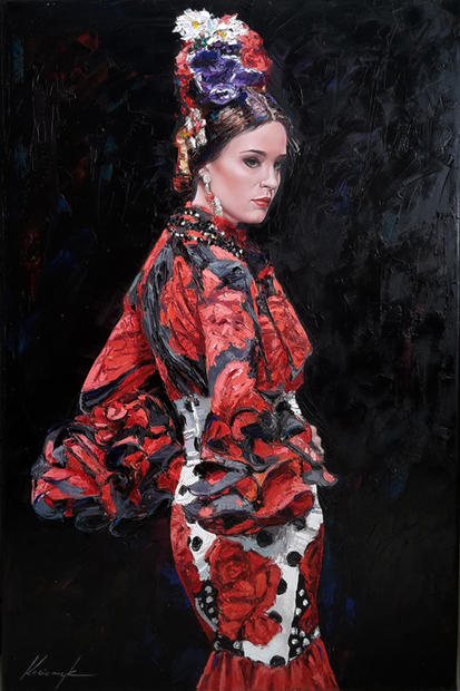"""""""Flamenco Dancer #1"""""""